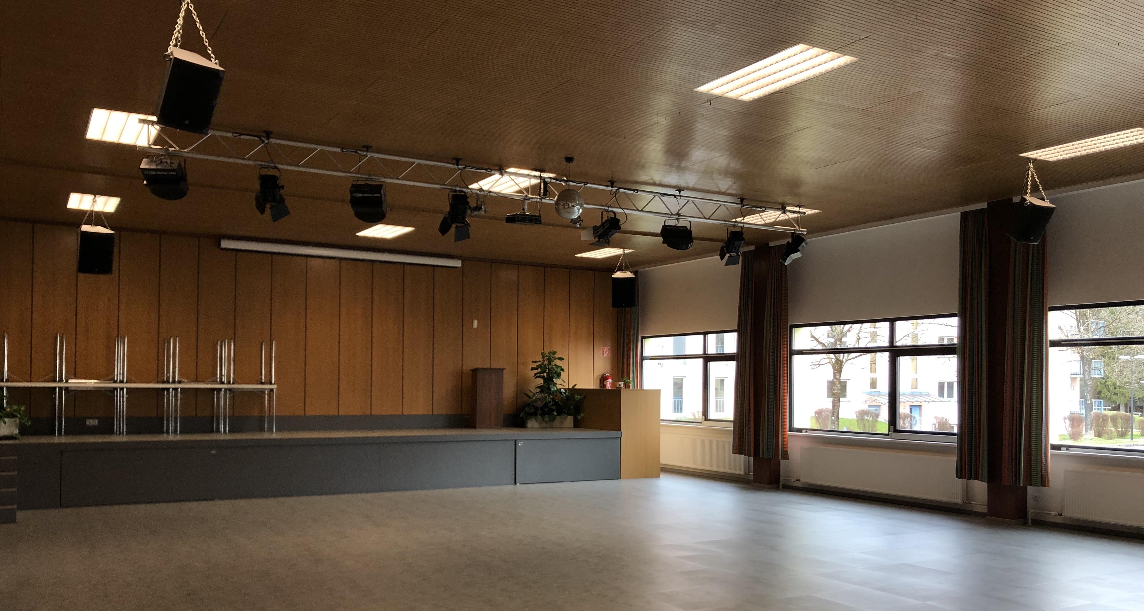 Festsaal für 230 Personen